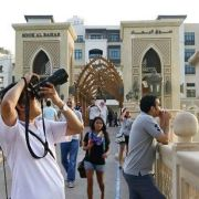 tourists UAE